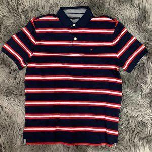 Tommy Hilfiger   Men's T-Shirt   Stripes   Red